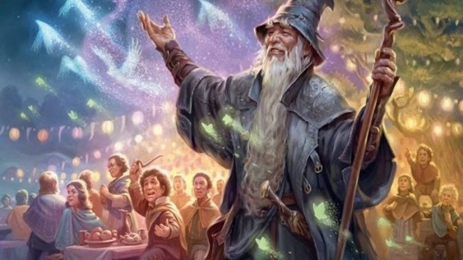 Lord of the Rings приходит в Magic the Gathering.